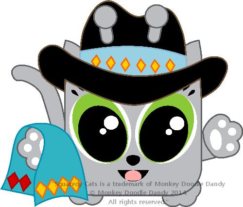 New Mexico Squaredy Cat