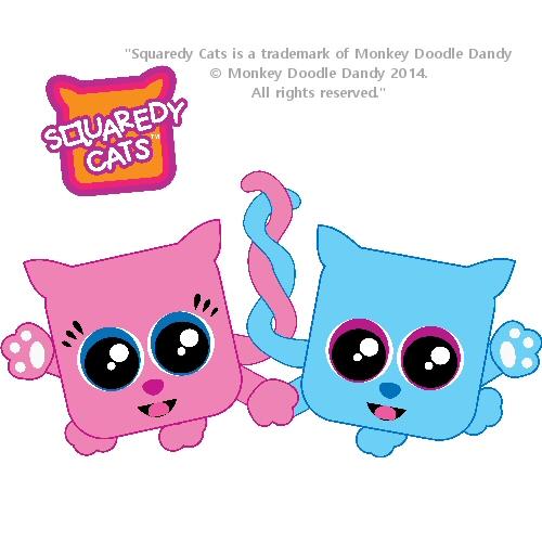 BFF Squaredy Cat