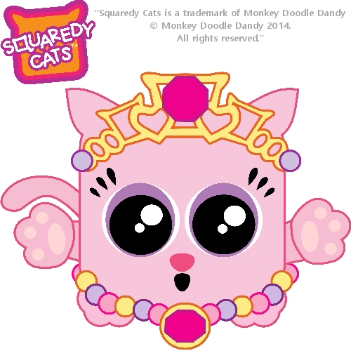 Princess Squaredy Cat