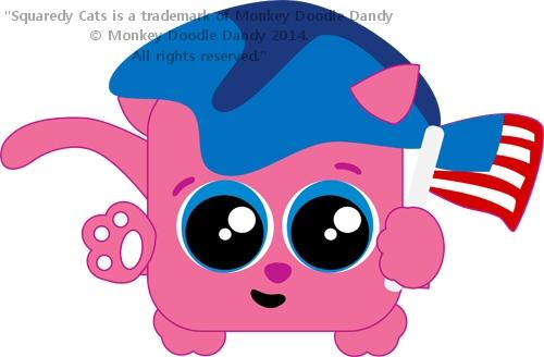 Patriot Squaredy Cat