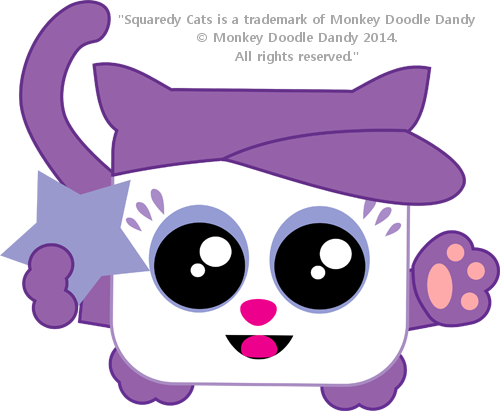 Spirit Day Squaredy Cat
