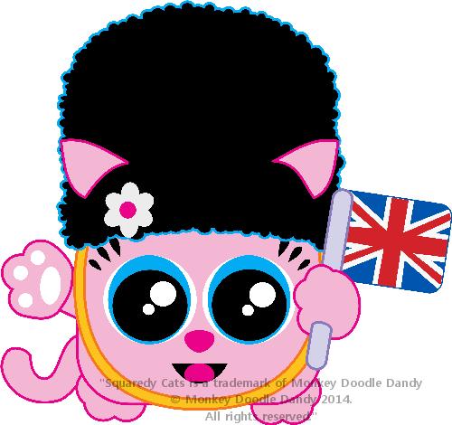 UK Squaredy Cat