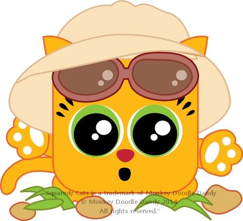 Utah Squaredy Cat