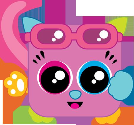 Zanie Squaredy Cat
