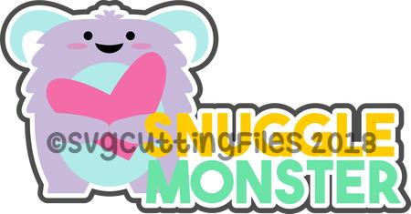 Snuggle Monster