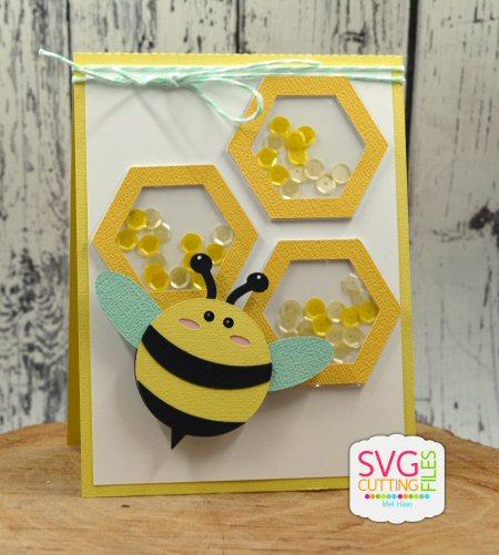 Beehive Shaker Card