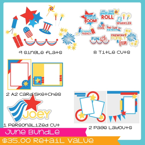 June Bundle Patriotic