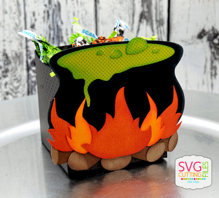 Witch Cauldron Box