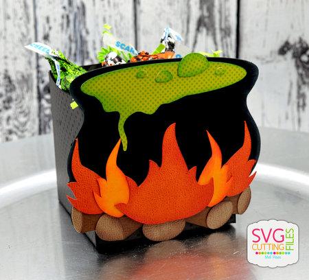 Witch Cauldron Box
