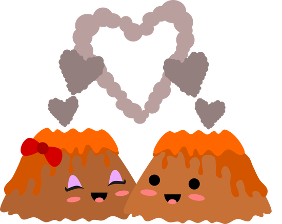Kawaii Volcano Love