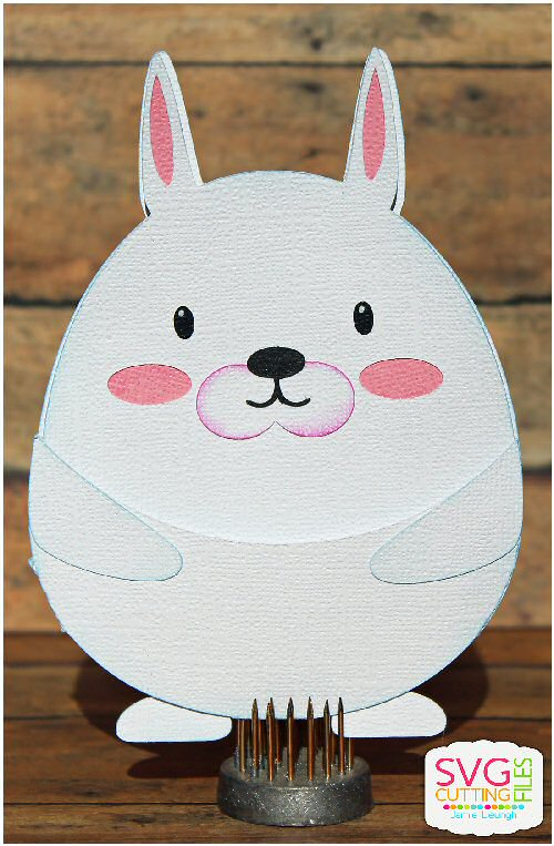 Bunny Slider Card