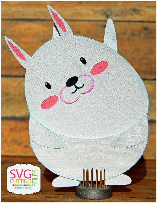 Bunny Slider Card