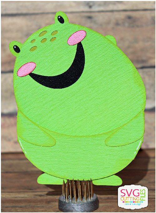 Frog Slider Card