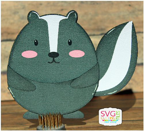 Skunk Slider Card